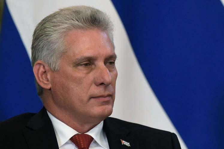 Presidente de Cuba rechaza mentiras y manipulación de la OEA