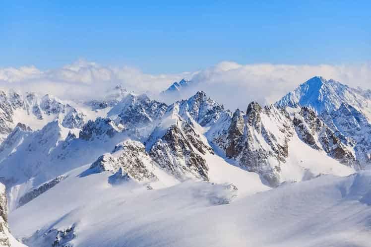 Investigación constata importante reducción de nieve en los Alpes