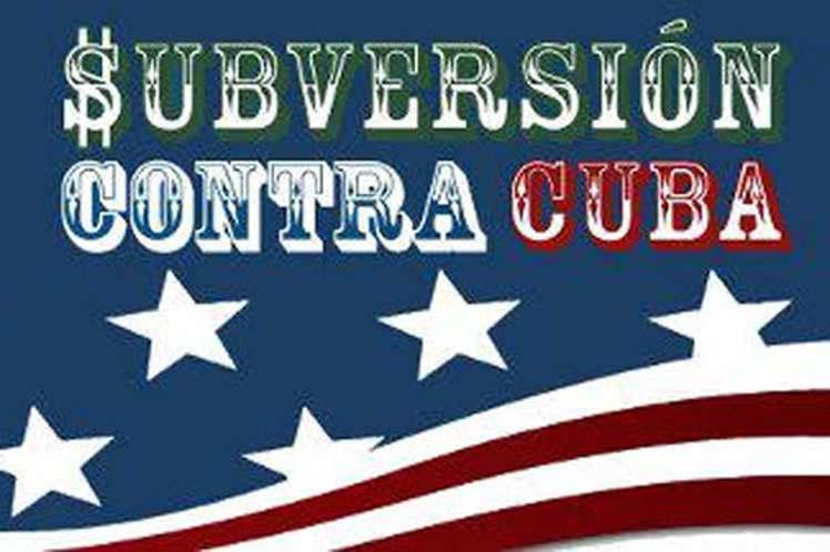Subversión desde Estados Unidos marca otra semana en Cuba