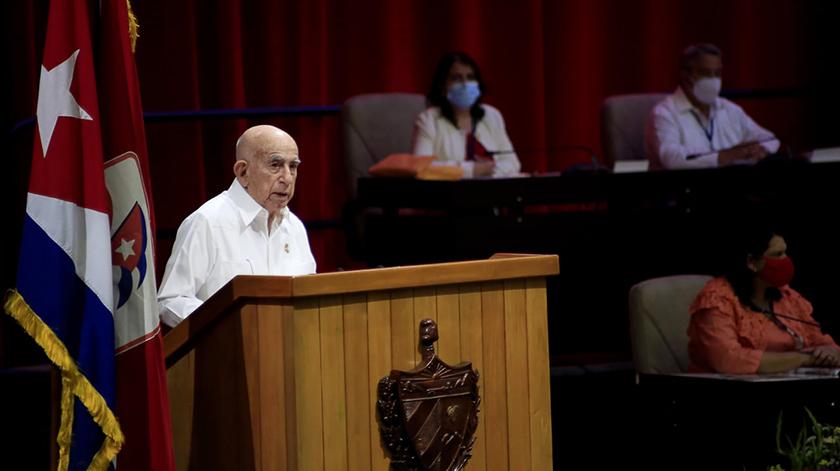 Evocación a Fidel en la apertura del 8vo. Congreso del Partido
