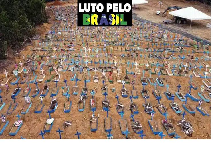 Vaticinan cinco mil muertes diarias por Covid-19 en Brasil