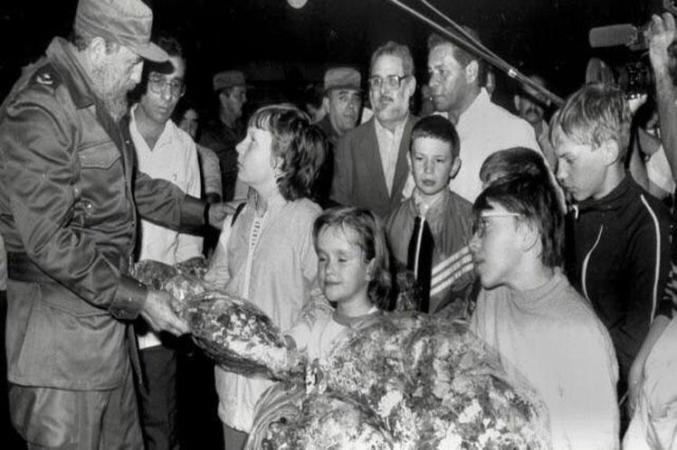 Recuerda Díaz-Canel accidente nuclear en Chernóbil y ayuda de Cuba