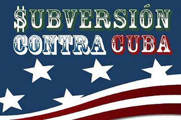 Denuncian vínculos entre instituto de EEUU y subversión contra Cuba