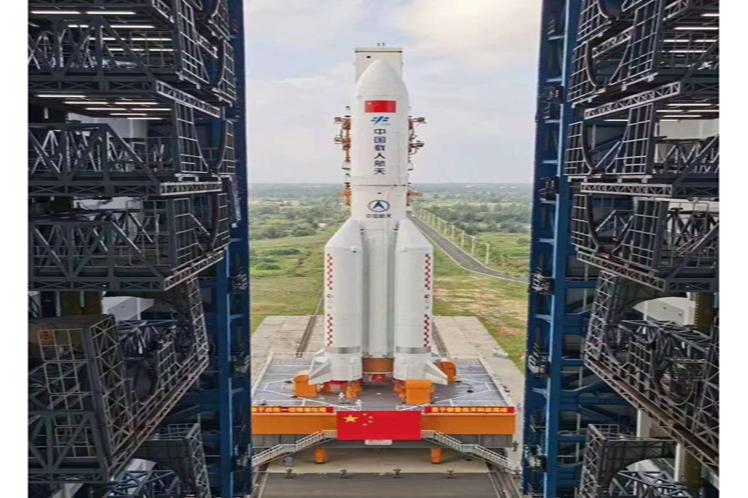 China cerca de lanzar módulo de su estación espacial