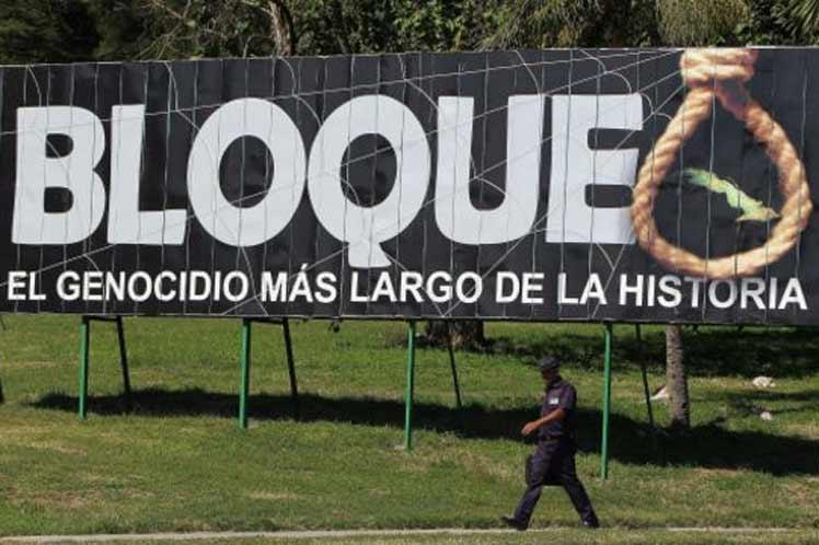 Rechaza presidente de Cuba hostilidad de bloqueo durante la pandemia