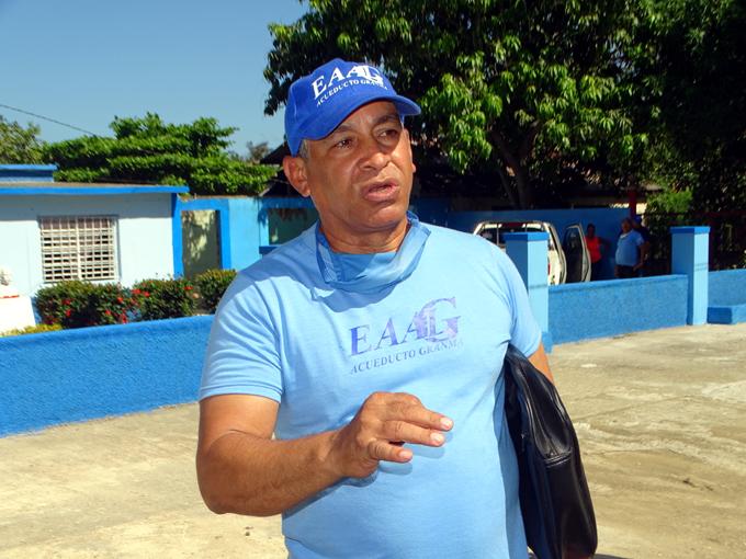 Garantizan abasto de agua a centros de aislamiento en Bartolomé Masó