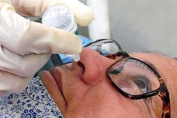 Califican en Cuba de seguro candidato vacunal nasal Mambisa