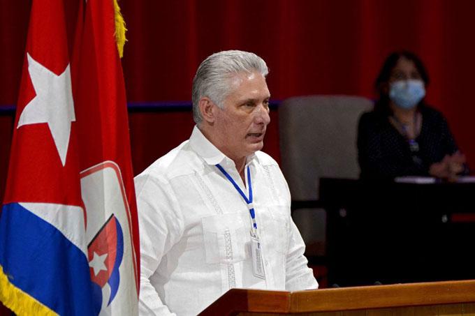 Elegido Miguel Díaz-Canel Bermúdez como Primer Secretario del Comité Central del Partido Comunista de Cuba