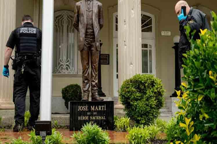 Ataque a embajada de Cuba continúa sin condena de EEUU