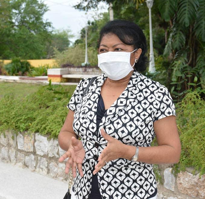 Doctora Iris Betancourt, miembro de honor de la Academia de ciencias de Cuba
