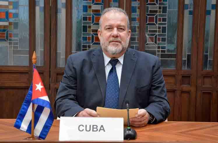 Cuba denunció impacto del bloqueo de EEUU en foro euroasiático