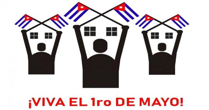Primero de Mayo por una Patria viva, unida y victoriosa