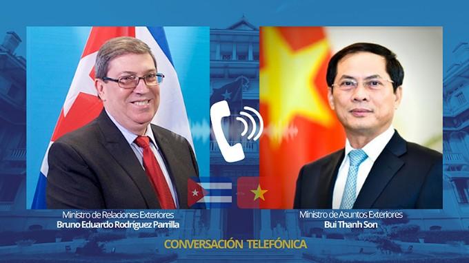 Intercambia canciller cubano con su homólogo vietnamita