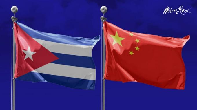 Intercambia Díaz-Canel con presidente chino