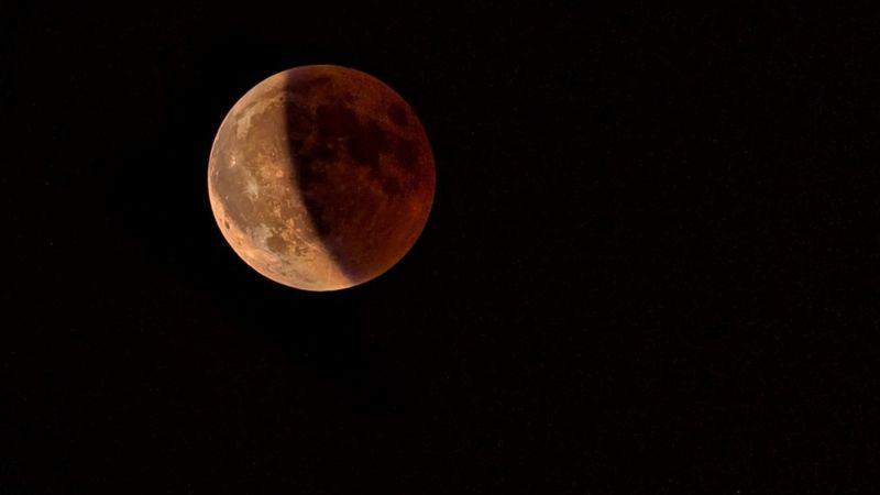 Ocurrirá mañana eclipse de superluna