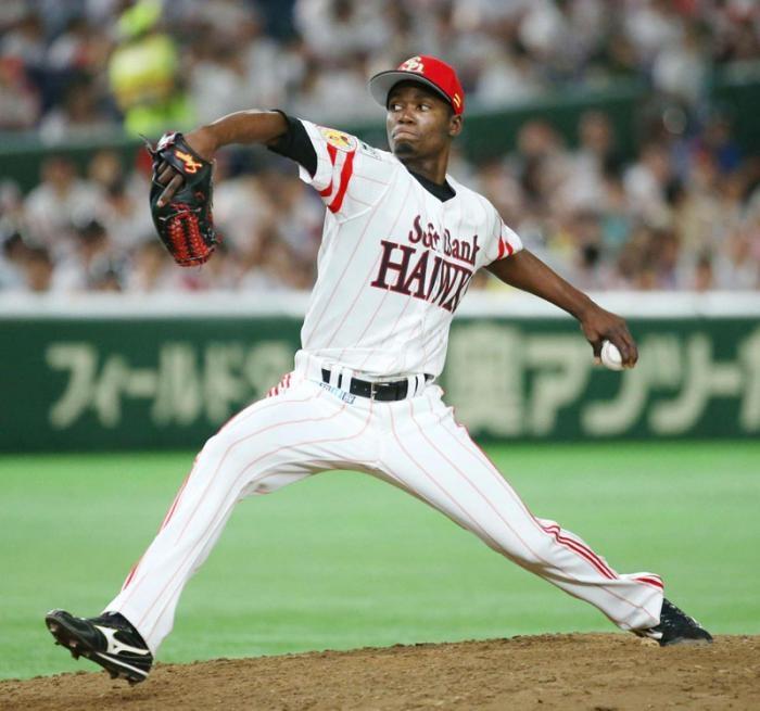 Lanzador cubano Moinelo mantiene destaque en béisbol de Japón