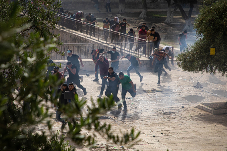 Palestina respira clima de guerra por ataques israelíes