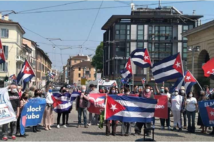 Comenzarán hoy caravana mundial contra bloqueo de EEUU a Cuba