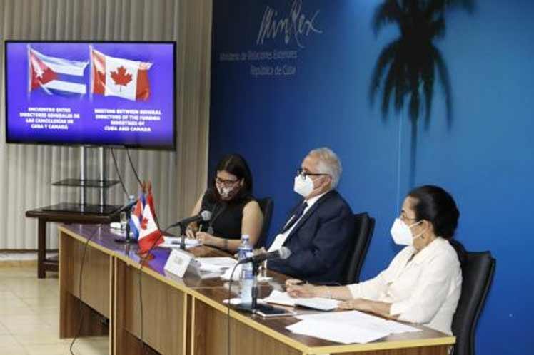 Cuba y Canadá abogan por fortalecer nexos de cooperación