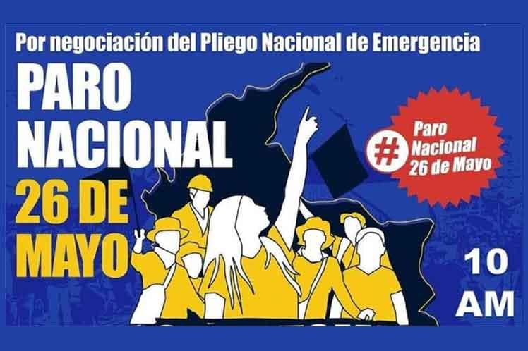 Convocan a más movilizaciones en Colombia
