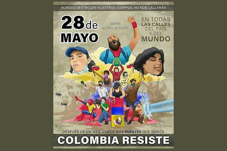 Hechos que sobresalen en un mes de paro en Colombia