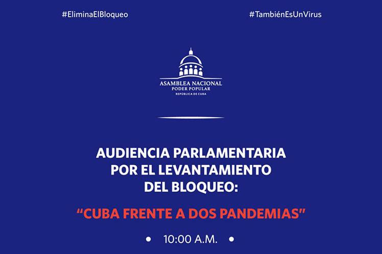 Parlamentarios de Cuba realizarán audiencia contra bloqueo de EEUU