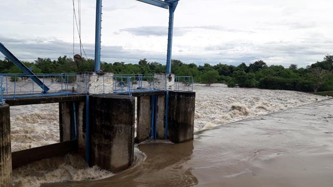 Amplían dique de la derivadora del río Bayamo