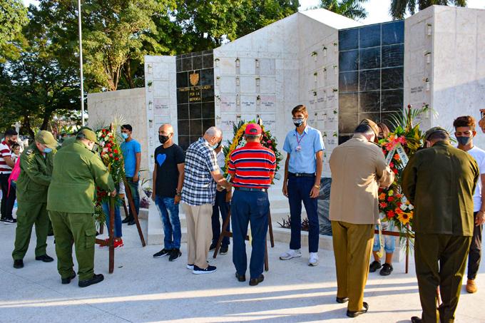 Rinden homenaje en Granma a caídos en misiones internacionalistas