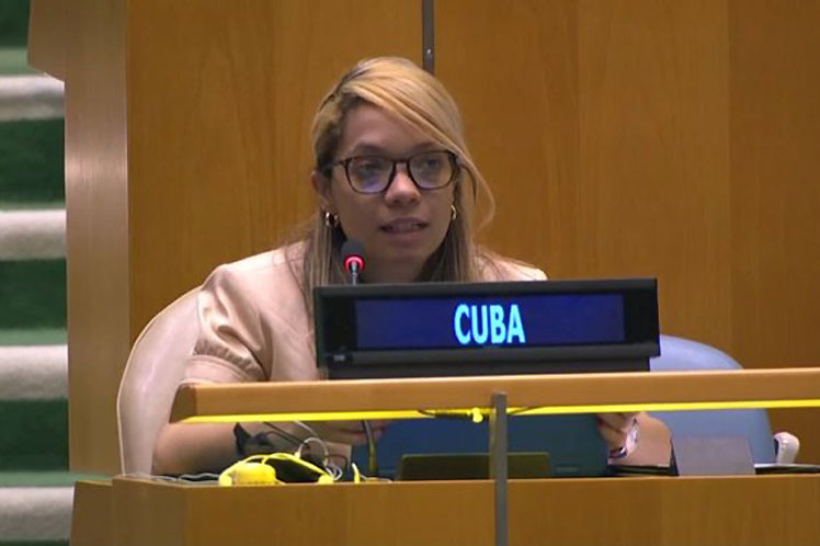 Cuba advierte en ONU sobre agendas politizadas