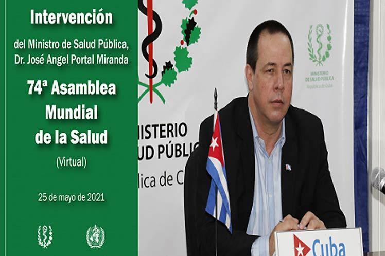 Experiencias de Cuba a debate en Asamblea Mundial de Salud