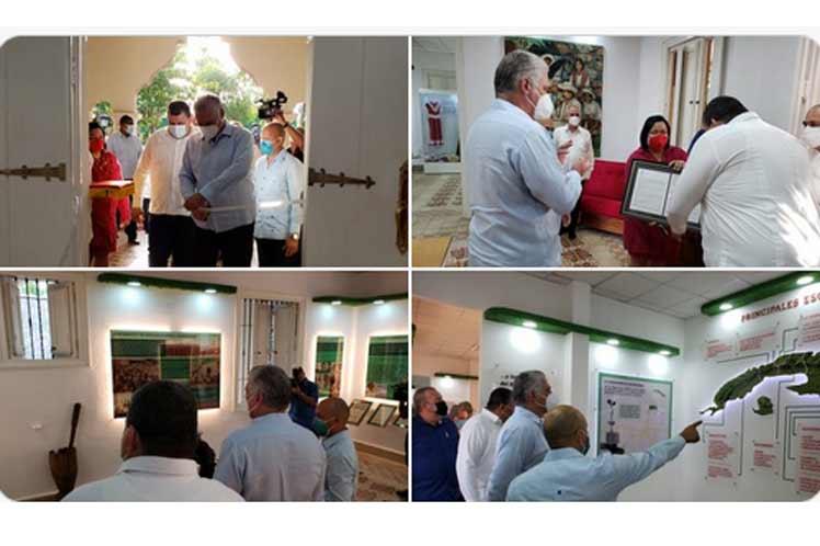 Inaugura Díaz-Canel Museo del Campesinado de Cuba