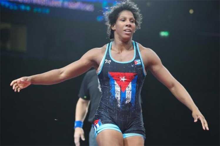Cubana Marín por boleto olímpico en clasificatorio de lucha