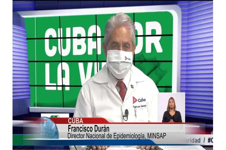 Cuba notifica mil 277 nuevos casos de Covid-19