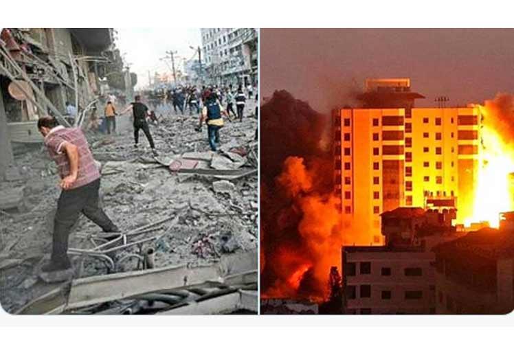 Presidente de Cuba condena ataques de Israel a población palestina