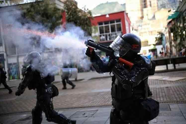 ONU preocupada por represión a manifestaciones en Colombia