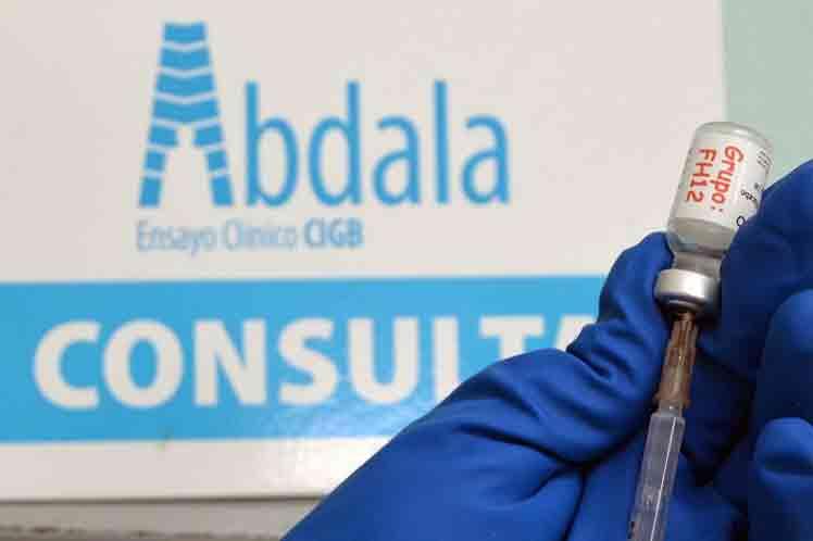 Cubanos expresan confianza en candidato vacunal Abdala