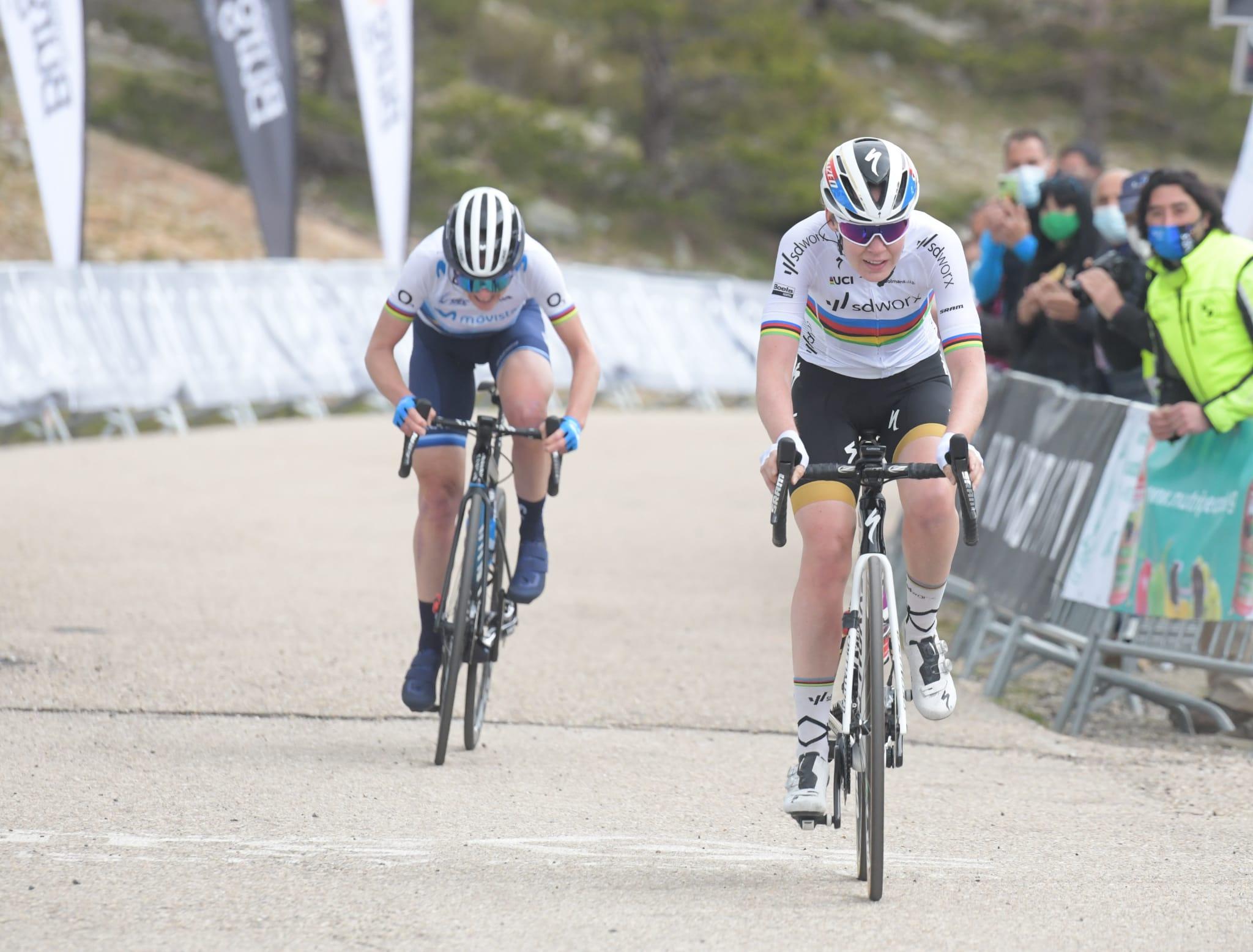 Concluye Arlenis en el puesto 22 de la VI Vuelta a Burgos