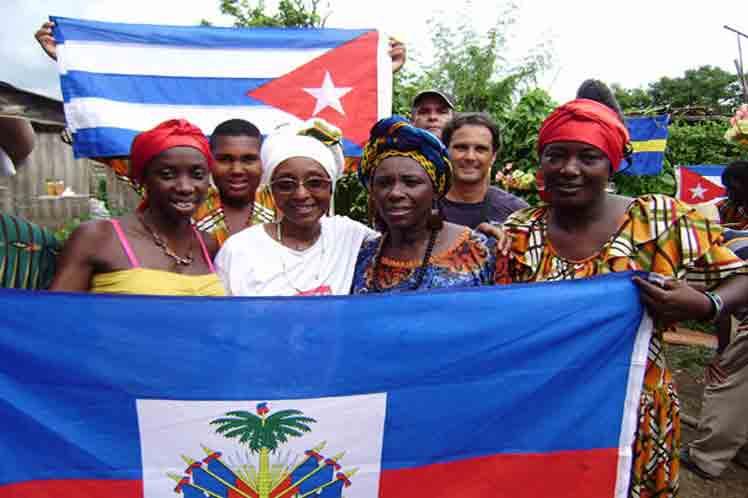 Cuba ratifica voluntad de cooperar con Haití
