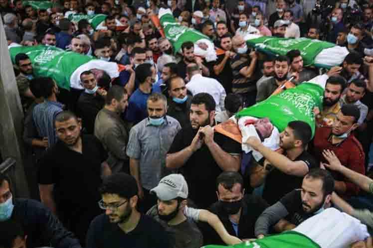 Ascendieron a 248 las muertes en Palestina por agresión israelí