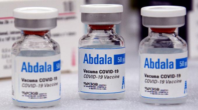 Cuba confirma 92,28 por ciento de eficacia de Abdala