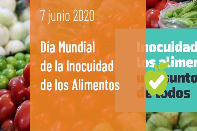 Celebran Día Mundial de la Inocuidad de los Alimentos