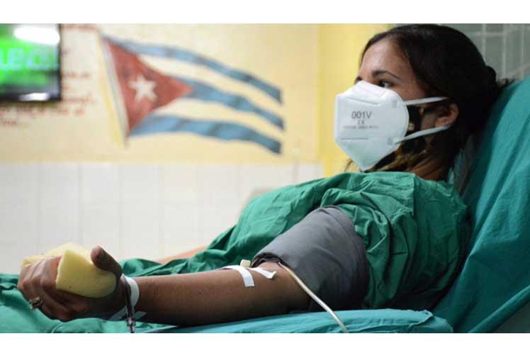 Cuba mantiene movimiento solidario para donación de sangre