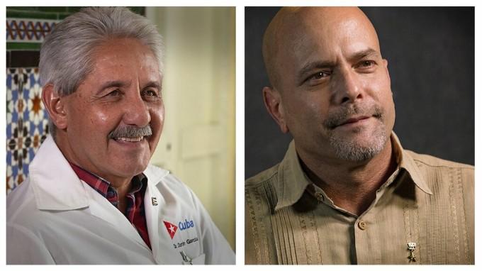 Felicita Díaz-Canel al doctor Durán y a Gerardo Hernández por sus cumpleaños