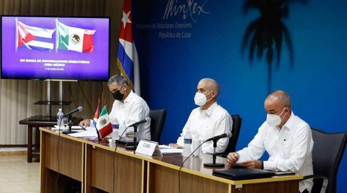Concluye nueva ronda de conversaciones migratorias Cuba-México