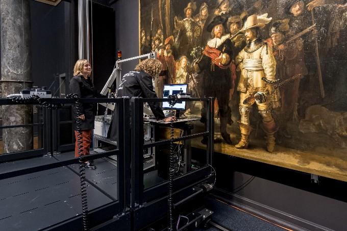 Inteligencia artificial reconstruye pintura de Rembrandt