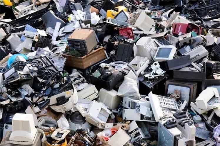 Desechos electrónicos ponen en peligro la salud humana