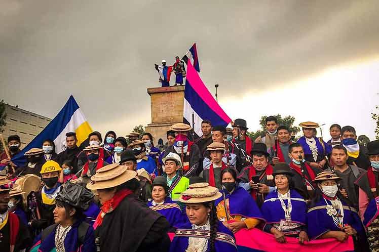Pueblo Misak en Colombia exige derecho a la vida (+Foto)