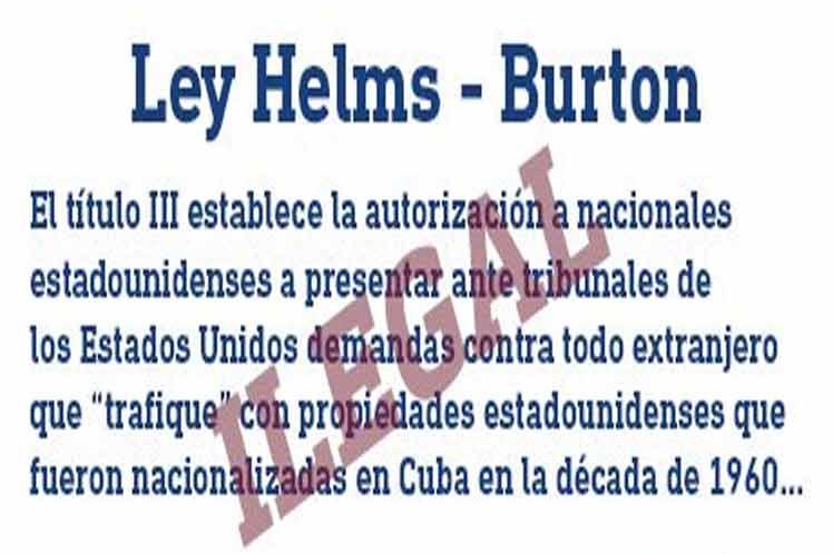 Tribunales EEUU desestiman demandas amparadas por bloqueo a Cuba
