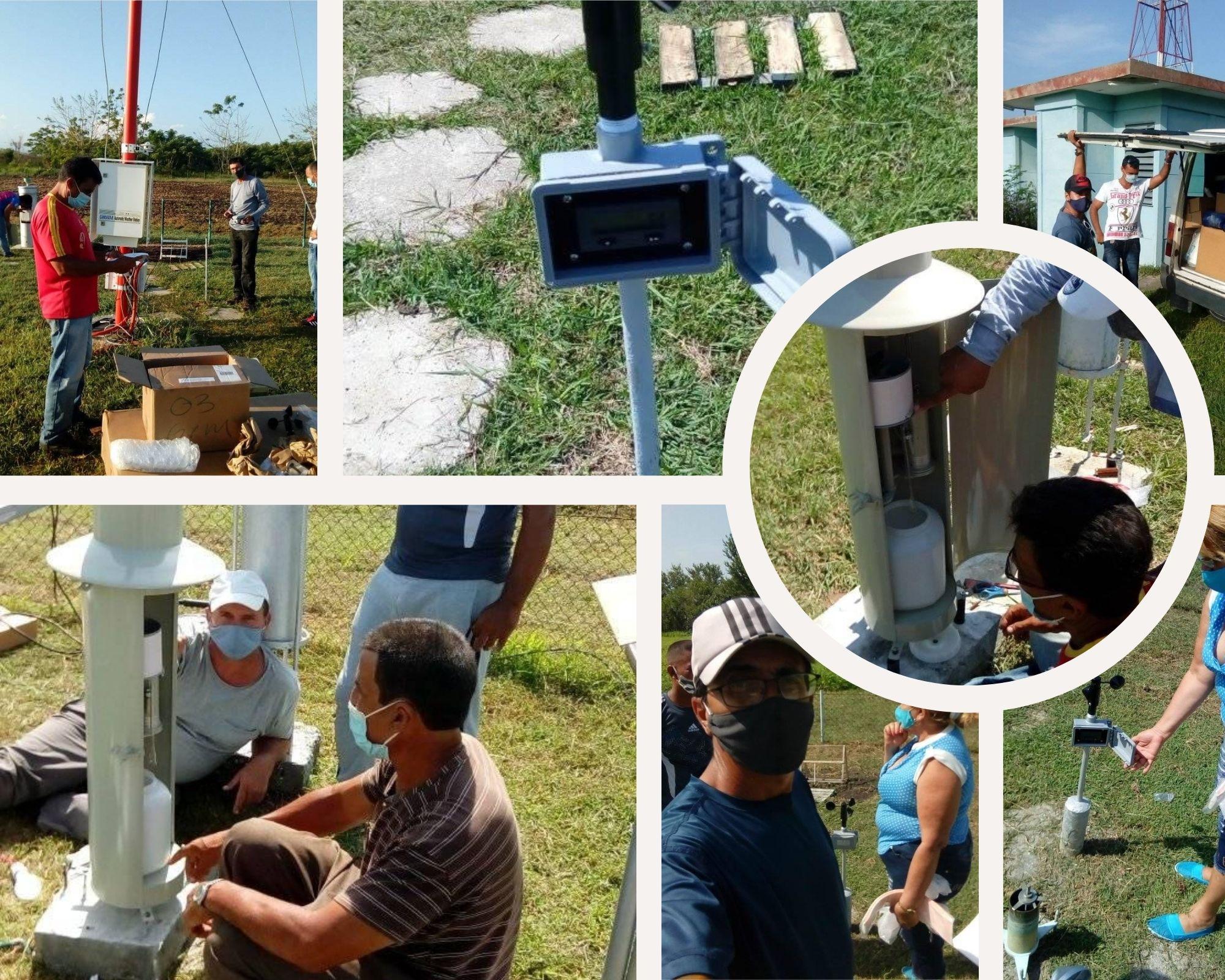 Dotan de instrumentos novedosos estaciones meteorológicas de Granma (+fotos y audio)