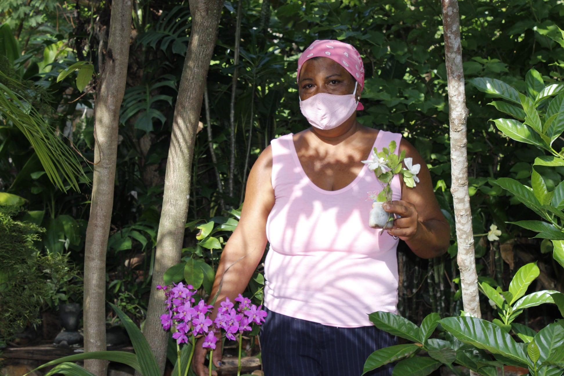 Marilis y su pasión por las plantas